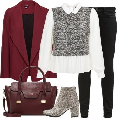 Outfit Un tocco d\'oro