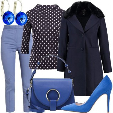 Outfit Blu e dintorni