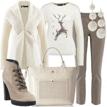 Outfit Candido e morbido