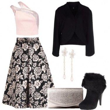 Outfit Rosè a fiori