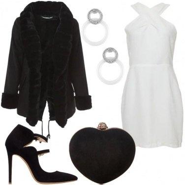 Outfit La clutch a forma di cuore