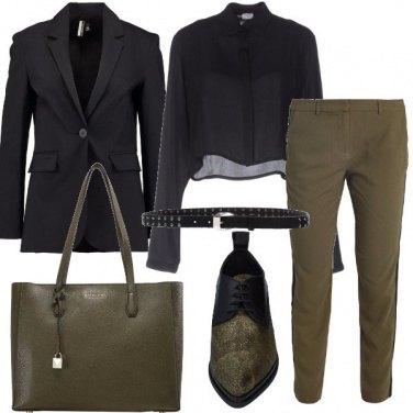 Outfit La stringata a punta stretta