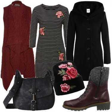 Outfit Urban floreale