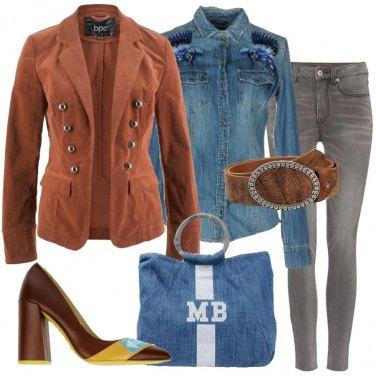 Outfit Il blazer in velluto