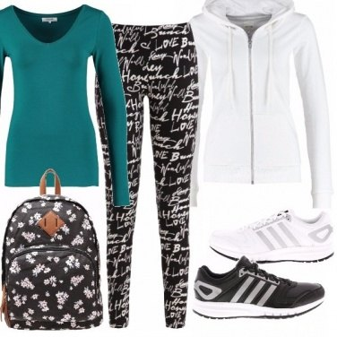 Outfit Fitness o relax