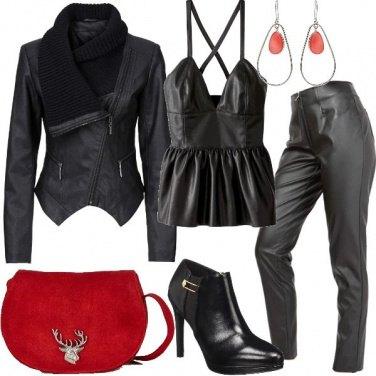 Outfit Pelle e similpelle