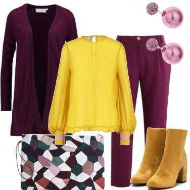 Outfit Solare in viola