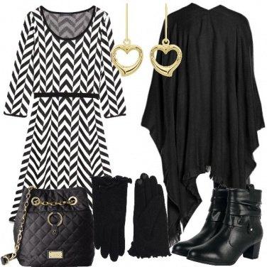 Outfit Abito a fantasia optical