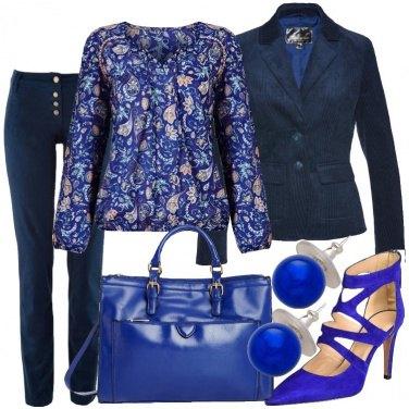 Outfit Tutto sul blu