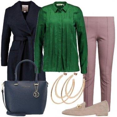 Outfit La camicia verde