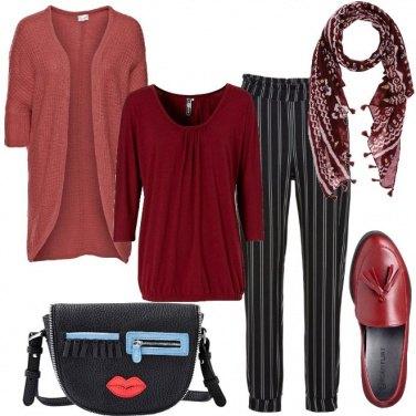 Outfit Rosso a poco e non da poco
