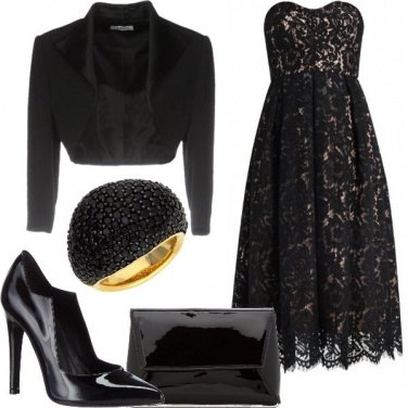 Outfit L\'abito in merletto