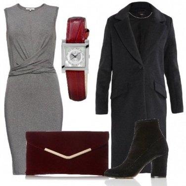 Outfit Tubino grigio