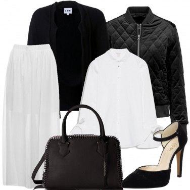 Outfit Viva il bianco e nero