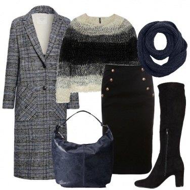 Outfit Un pizzico di blu