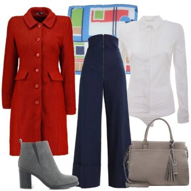 Outfit Cerchi e quadri