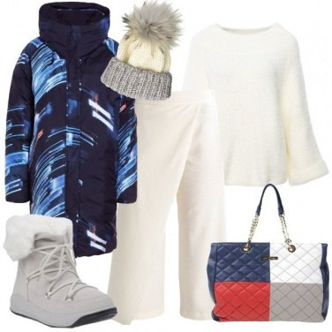 Outfit Neve e raffiche di vento