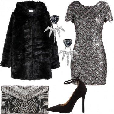 Outfit Una festa scintillante