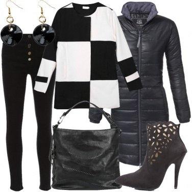 Outfit Cerchi e quadrati