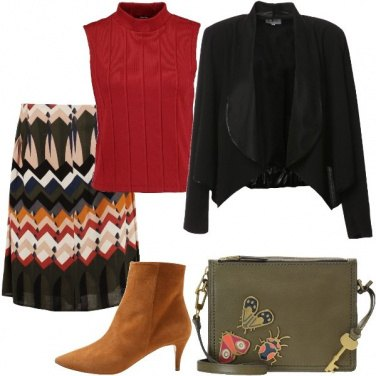 Outfit Geometrie colorate