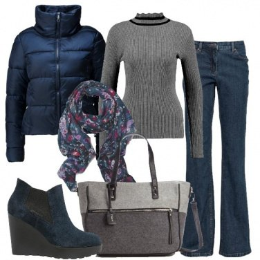 Outfit Lo shopping in due colori