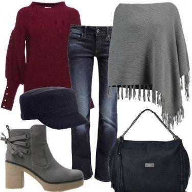 Outfit Jeans e maglione