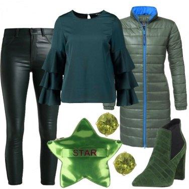 Outfit Sfumature di verde