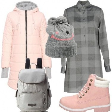 Outfit Urban dai colori tenui