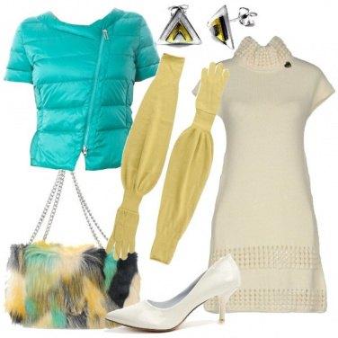 Outfit I guanti lunghi