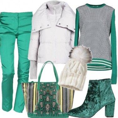 Outfit Un piumino stiloso