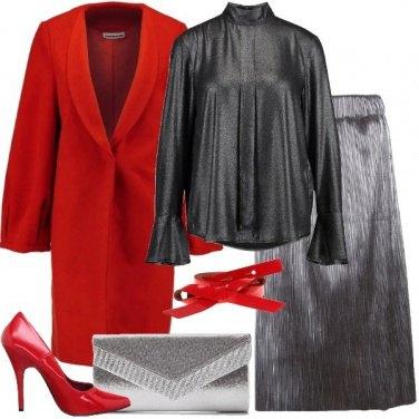 Outfit Chic e brillante