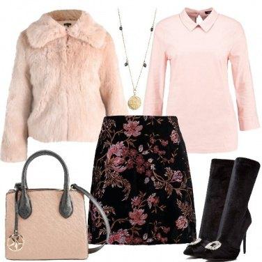 Outfit La mini a fiori