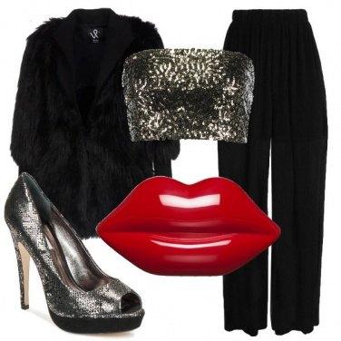 Outfit La clutch rossa