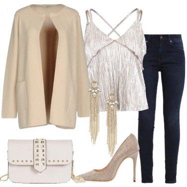 Outfit Jeans per la festa