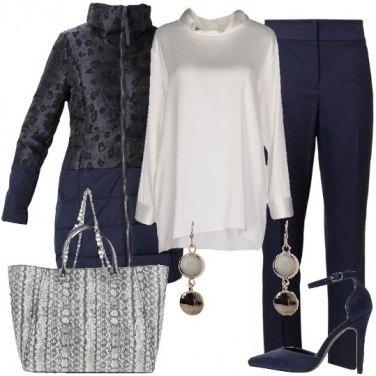 Outfit Il piumino animalier