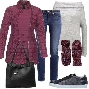 Outfit A mio agio con il freddo