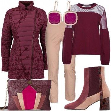 Outfit Tagli geometrici