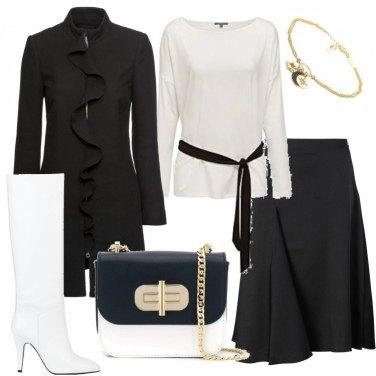 Come abbinare gli stivali e anfibi bianchi: 219 Outfit Donna
