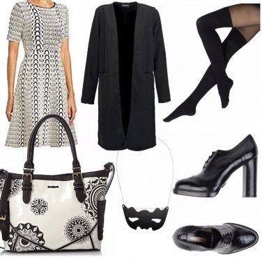 Outfit Black and grey