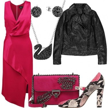 Outfit Chiodo in vinile