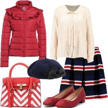 Outfit Piumino bon ton