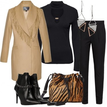 Outfit Il cappotto beige