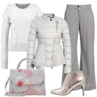 Outfit Cielo grigio su