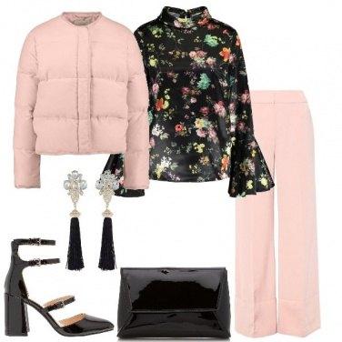 Outfit Pantaloni a palazzo