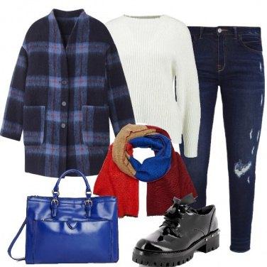 Outfit In blu con brio