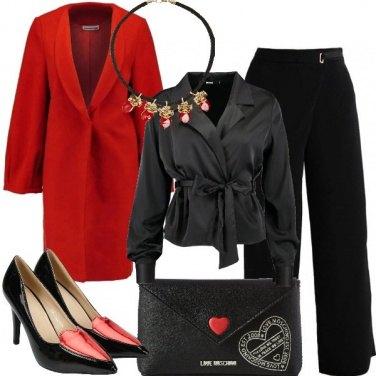 Outfit Cuori rossi e brillanti
