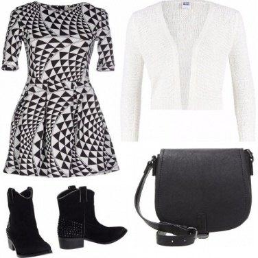 Outfit Semplicemente...bianco e nero