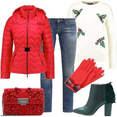 Outfit Rosso per le feste