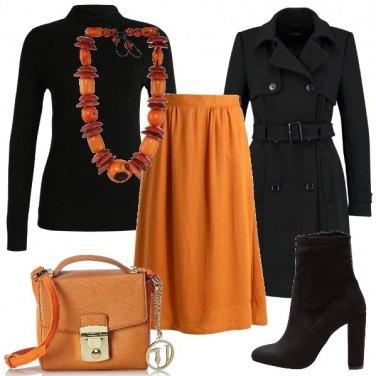 Outfit Non il solito rosso
