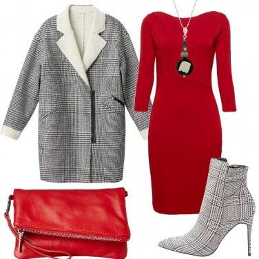 Outfit Principe di Galles e rosso